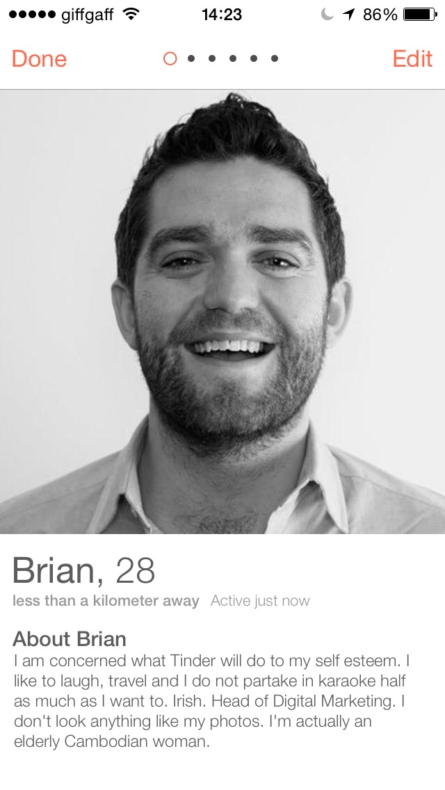 Funny online dating bios 3